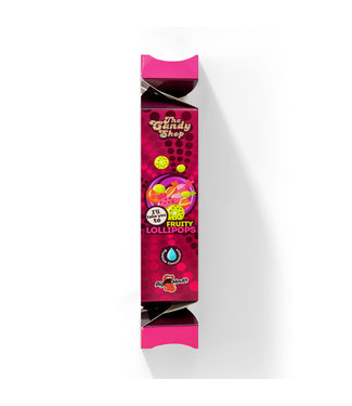 Big Mouth Big Mouth The Candy Shop: Fruity Lollipops - 10ML