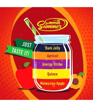 Big Mouth Big Mouth Smooth Summer: Malaysian Apple - Quince - Energy Strike - Apricot - Dark Jelly - 10ML