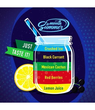 Big Mouth Big Mouth Smooth Summer: Lemon Juice - Red Berries - Mexican Cactus - Black Currant - Crushed Ice - 10ML