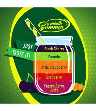 Big Mouth Big Mouth Smooth Summer: Frozen Berry Juice - Cranberry - Artic Cloudberry - Pomelo - Black Cherry - 10ML