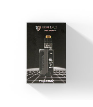 WISMEC Wismec Reuleaux RX GEN3 + Gnome Clearomizer - 300W Startset