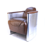 D2D Design Aviator Chair - Cognac