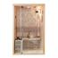 OAK Design Compacte Sauna - 2 Personen