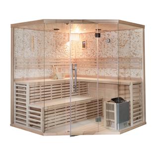 Hoekmodel Sauna - 6 Personen