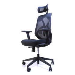 Chaise de bureau ergonomique ERGO-1 - Noir