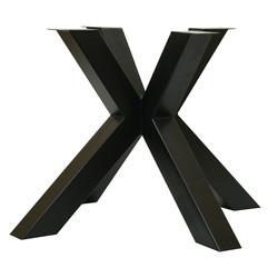 Set van design poten voor boomstamtafel