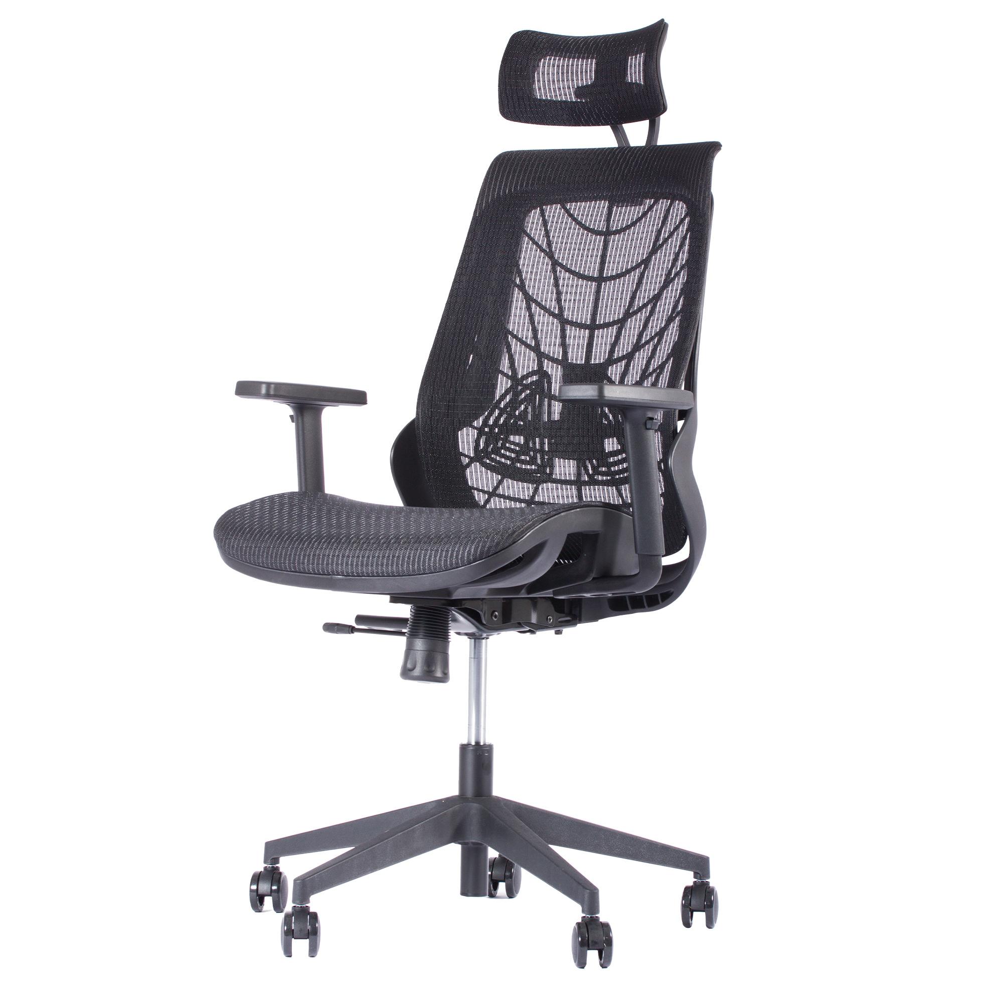 Bureaustoel Zwart Design.Ergonomische Bureaustoel Ergo 2 Zwart Deals2day