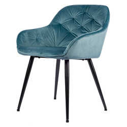Breaze Chaise - Bleu | Velours