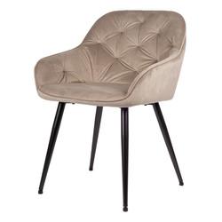 Breaze Chaise - Beige | Velours