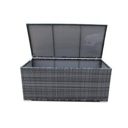 Kussenbox - Antraciet | 155Bx76Dx68H | Wicker