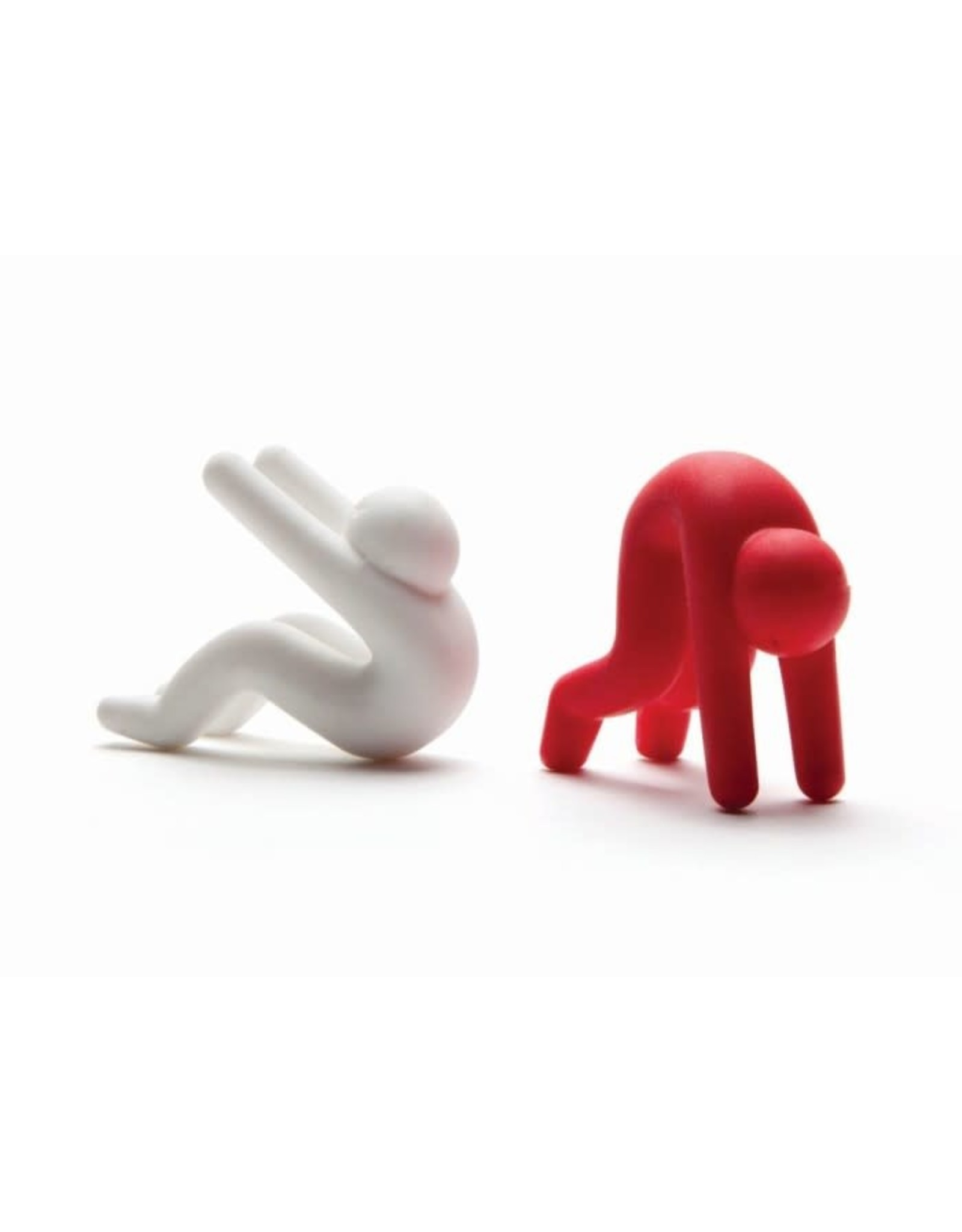 Monkey Business Lid Sid - set of 2 pcs red + white