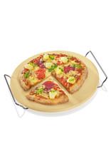 Küchenprofi Pizzasteen rond met houder Ø 30cm