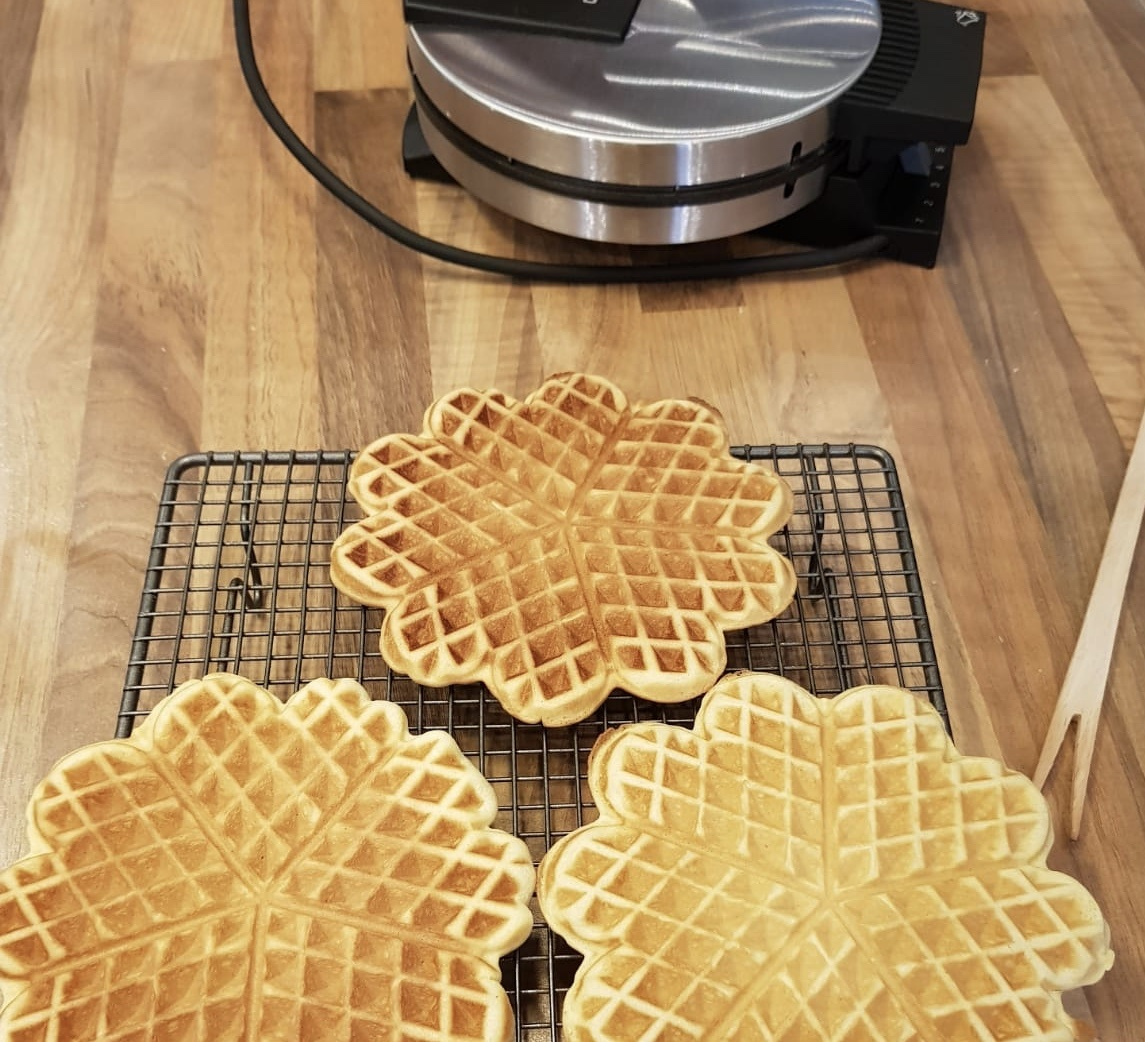 25 Maart de Internationale Dag van de wafel.