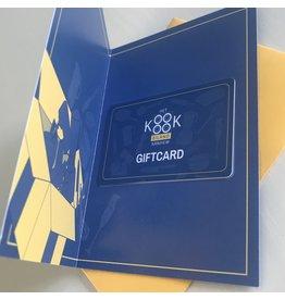 Giftcard / Cadeaubon