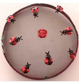 Vliegenkap Ø 30,5 cm, lieveheersbeestjes