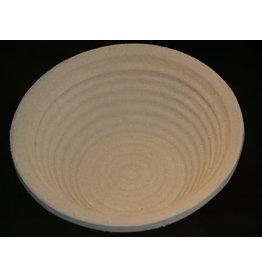 Rijsmand rond 750 gram met groefpatroon