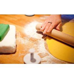 Kitchencraft Deegroller beukenhout massief 40cm