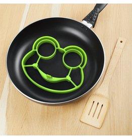 Fred Ei-bakring 'Funny Side Up' Frog