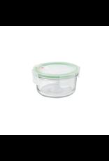 Glasslock Magnetronschaal rond met deksel, 400 ml