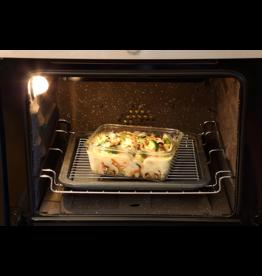 Glasslock Ovenschaal rechthoek met deksel, 1730 ml
