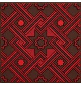 Image 'd Orient Onderzetter 1 st Matéa Red
