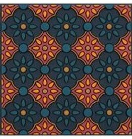 Image 'd Orient Onderzetter 1 st Zahra Orange