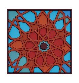 Image 'd Orient Onderzetter set van 2 Moucharabieh