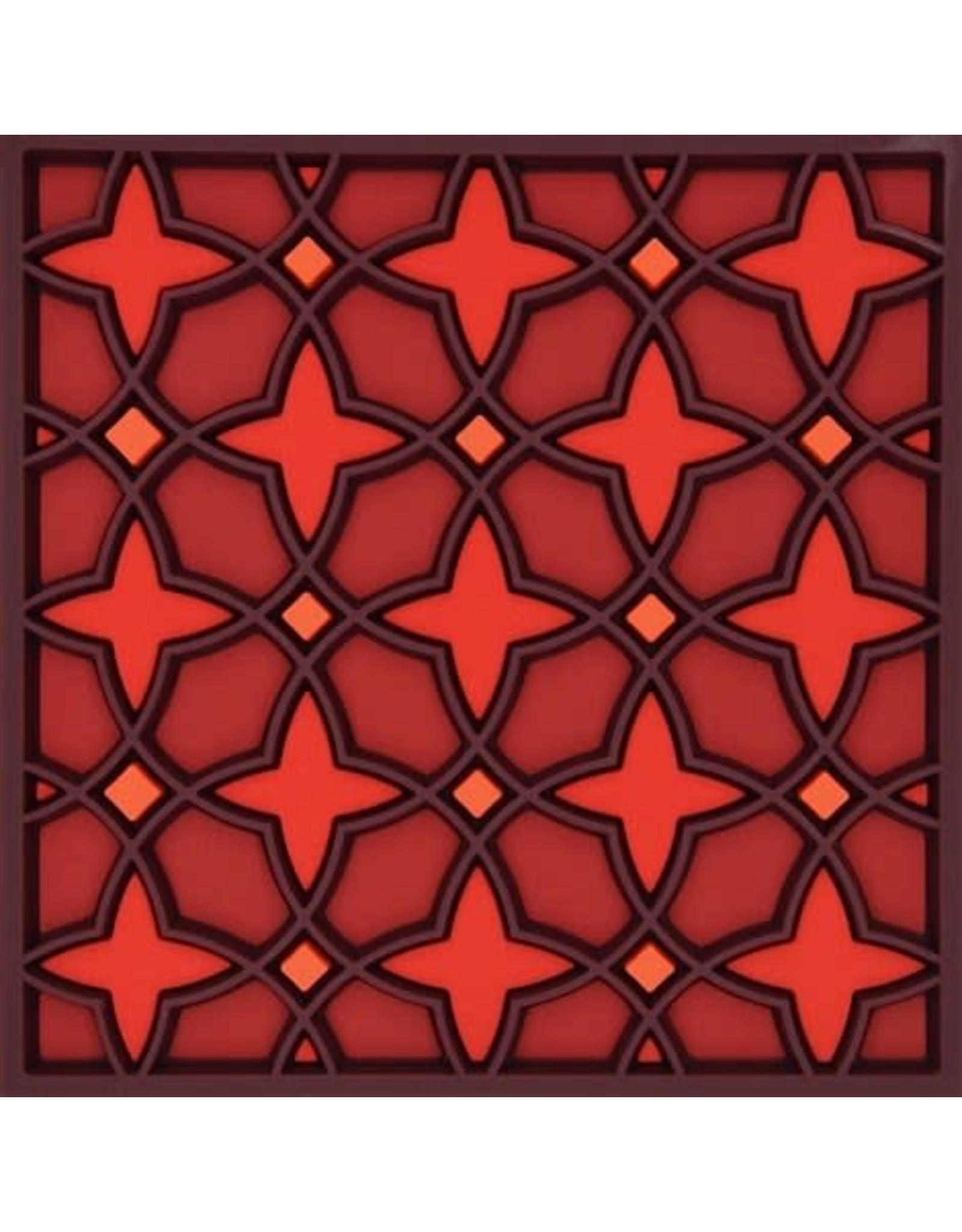 Image 'd Orient Onderzetter set van 2 Najma Red