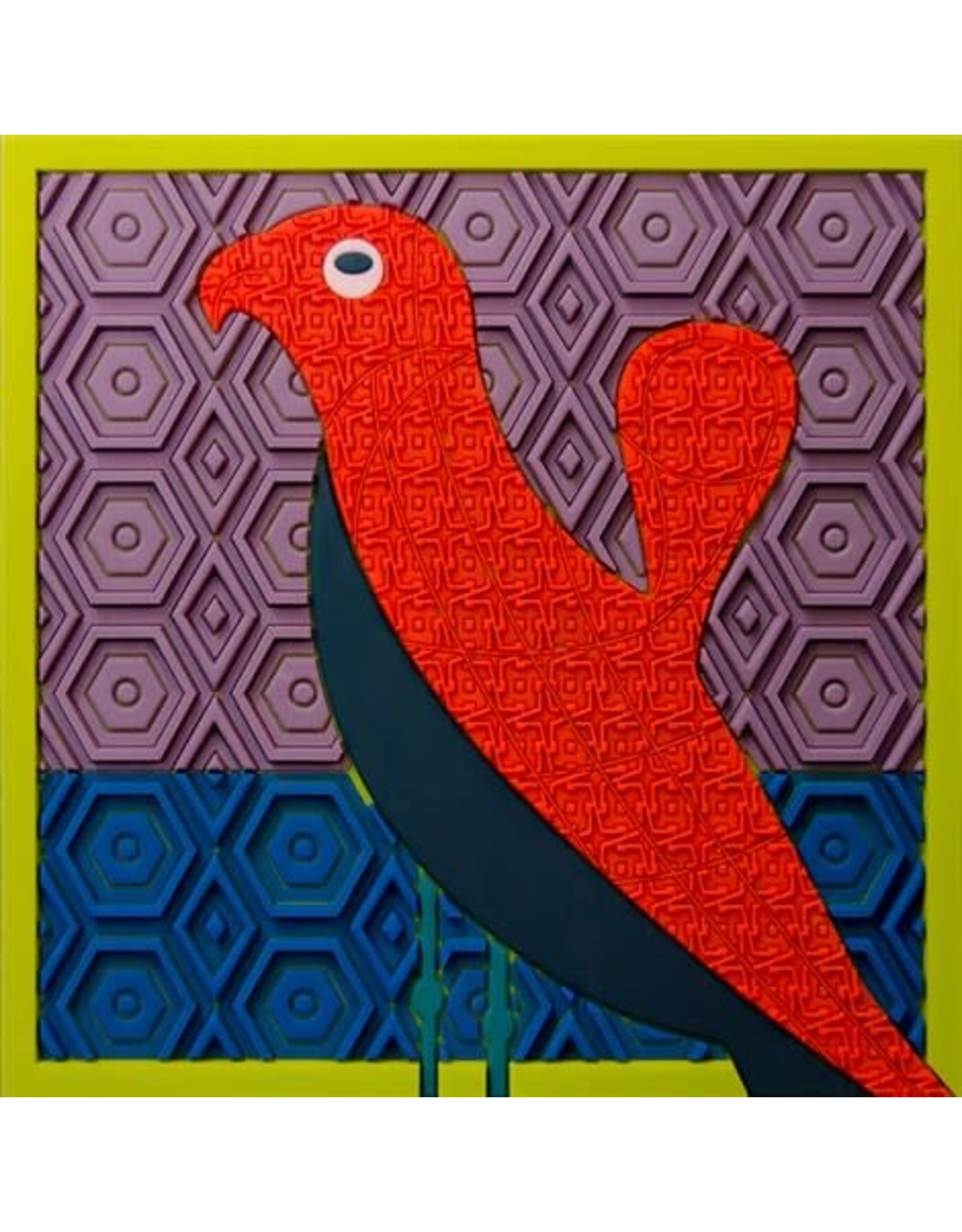 Image 'd Orient Pannenonderzetter Birds of Paradise