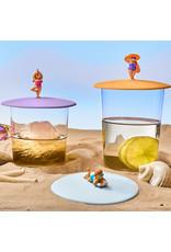 Lurch Beach Girls Zomer glasdeksel