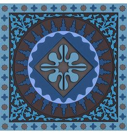 Image 'd Orient Onderzetter 1 st  Mosaic Blue