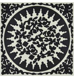 Image 'd Orient Pannenonderzetter Mosaic Black & White