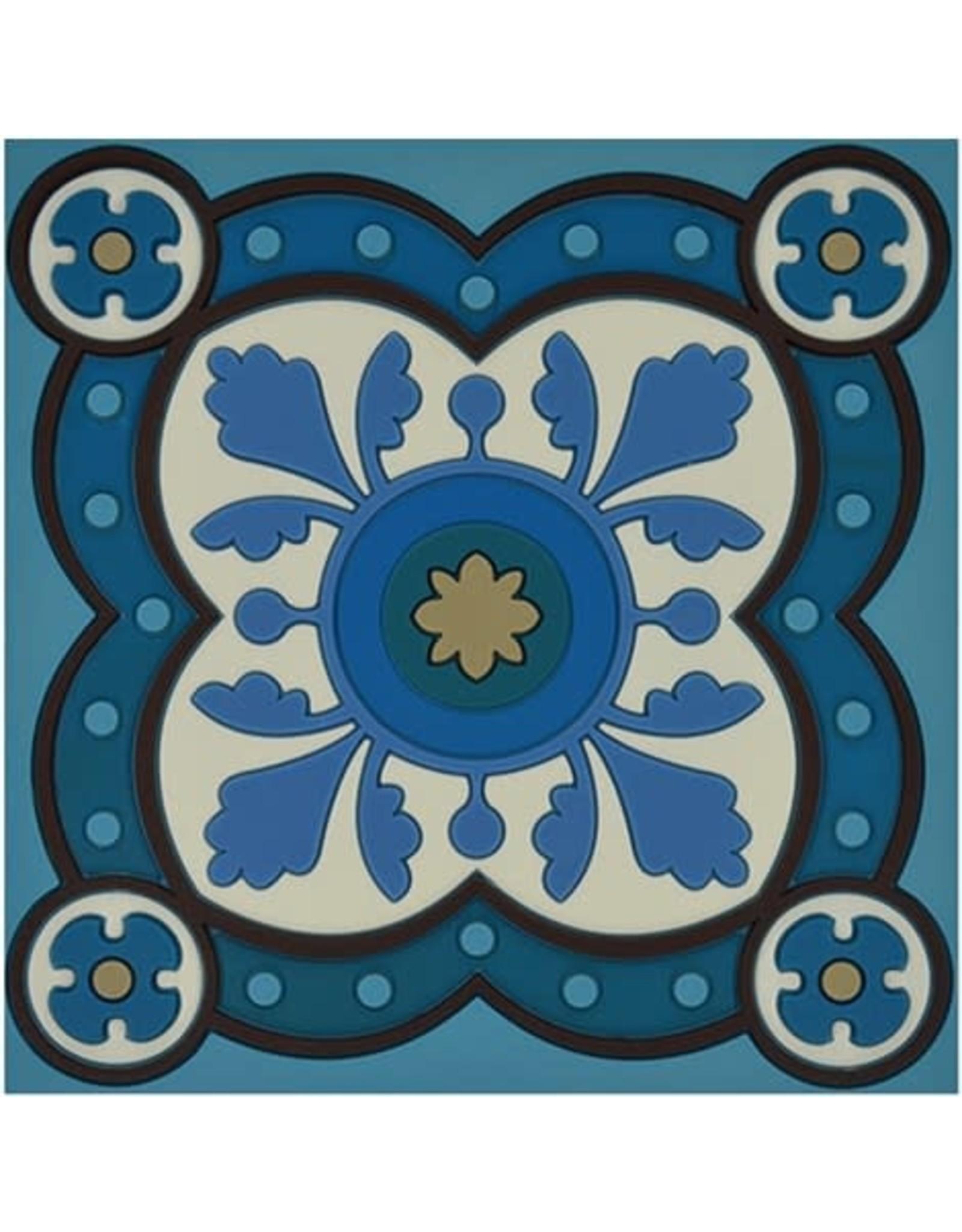Image 'd Orient Pannenonderzetter  Sejjadeh Azur
