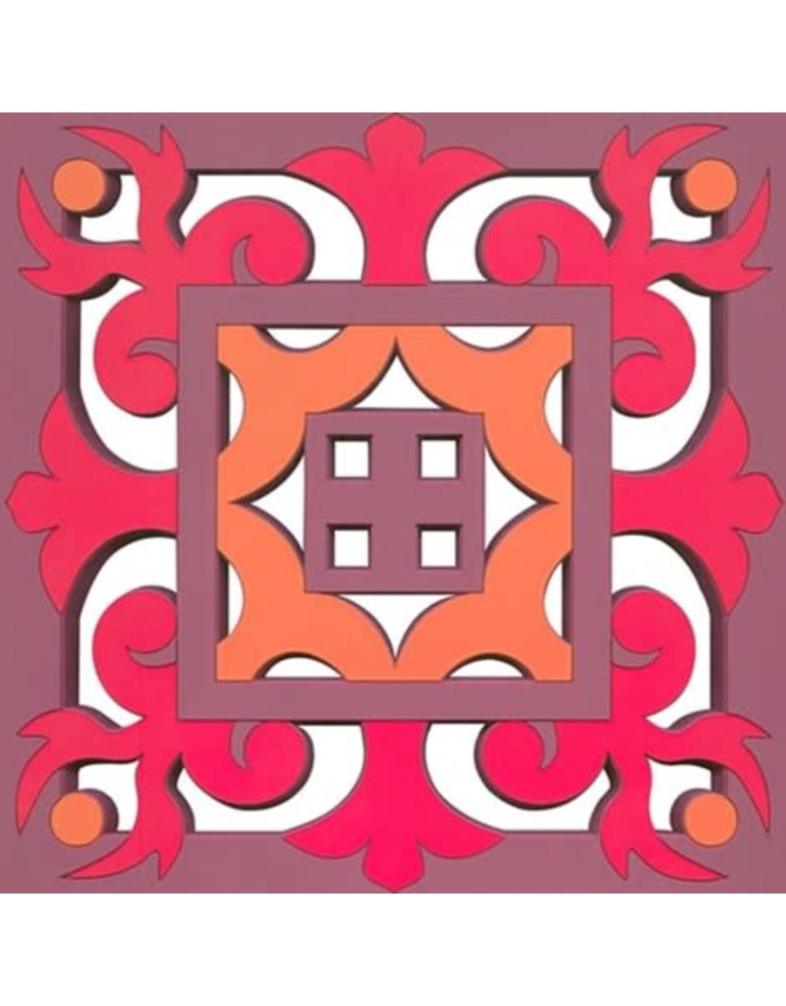 Image 'd Orient Pannenonderzetter  Sejjadeh Zen Feu