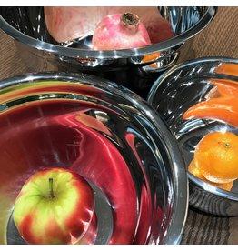 Küchenprofi Mengkommen set rvs met antislip bodem
