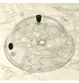 Wartmann Rookstolp met slangdoorvoer 30 cm polycarbonaat