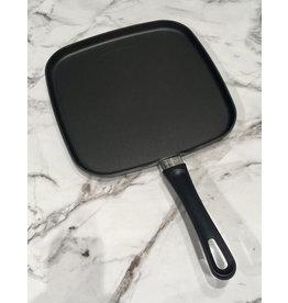 Scanpan vierkantecrêpepan / koekenpan of bakplaat met greep 28 x28 cm