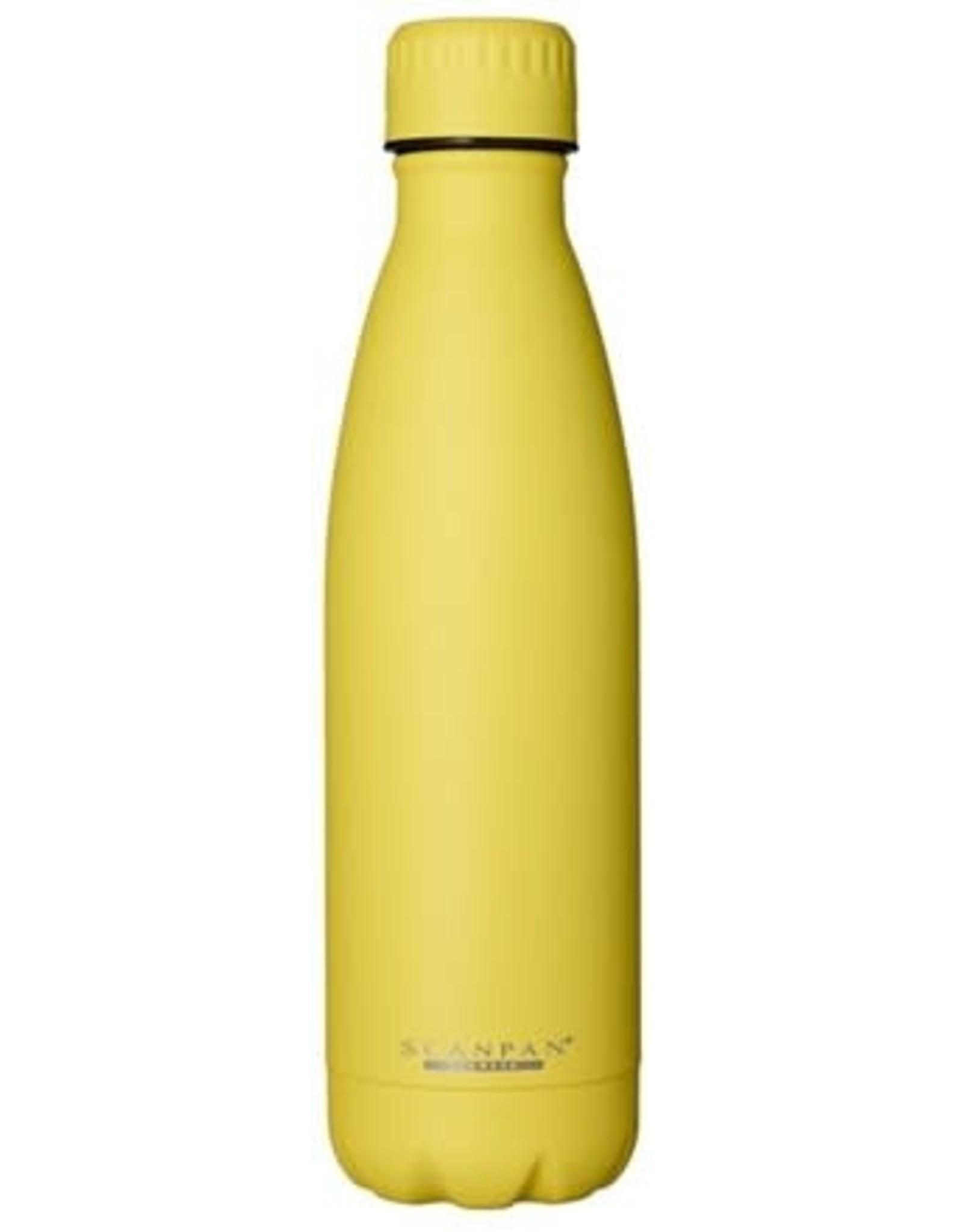 Scanpan 500 ml isoleerfles, PrimroseYellow