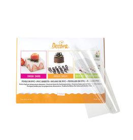 Decora VOEDSEL PVC VELLEN 30 X 40 CM - 150 MYCRON  10 ST