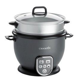Crock-Pot Rijstkoker met stoomtray en functies 1,8L (max. 10 cups ongekookte rijst)