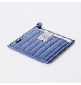 Point-Virgule Pannenlap indigo blauw 22x22cm