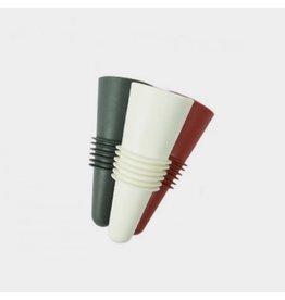 Lurch Flessenstop rood, wit of zwart