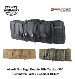 VALKEN Airsoft Gun Bag - Double Rifle Tactical-36""