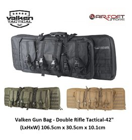 "VALKEN Airsoft Gun Bag - Double Rifle Tactical-42"""