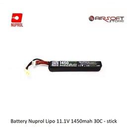 NUPROL Batterie Nuprol Lipo 11.1V 1450mah 30C - stick