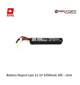 NUPROL Batterij Nuprol Lipo 11.1V 1450mah 30C - stick