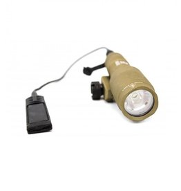 WE Flashlight for pistol/rifle w/mount NX600S - TAN
