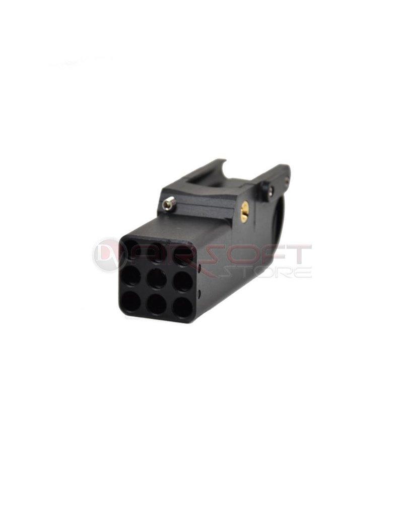 Zoxna Zoxna Mini Launcher (Rifle/Pistol) - 40 Rds - Black