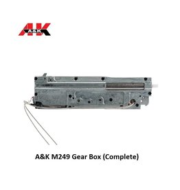 A&K A&K M249 Gear Box (Complete)