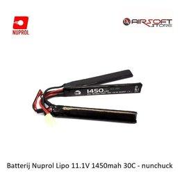 NUPROL Batterij Nuprol Lipo 11.1V 1450mah 30C - nunchuck